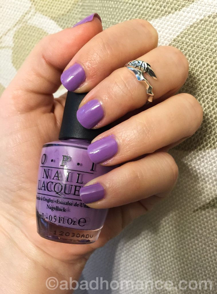 What\'s on your nails? Do you lilac it? | A Bad Homance